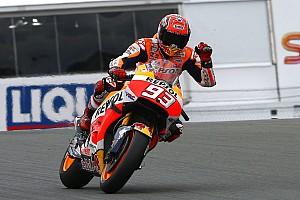 MotoGP Qualifiche Marquez in pole al Sachsenring, ma Valentino è in prima fila
