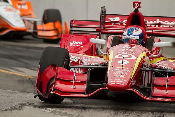 IndyCar Dixon emocionado; Castroneves, contrariado