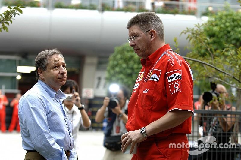 Ferrari planea fichar a Ross Brawn con un rol diferente
