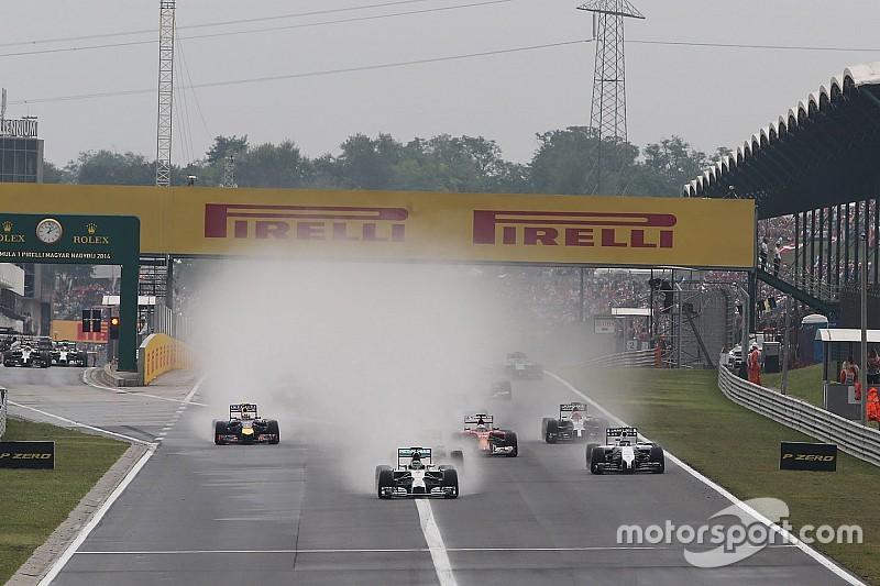 Regen kan rol gaan spelen tijdens Grand Prix van Hongarije