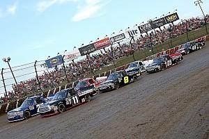 NASCAR Truck Feature Bildergalerie: Die NASCAR-Trucks auf dem Dirt-Track von Eldora