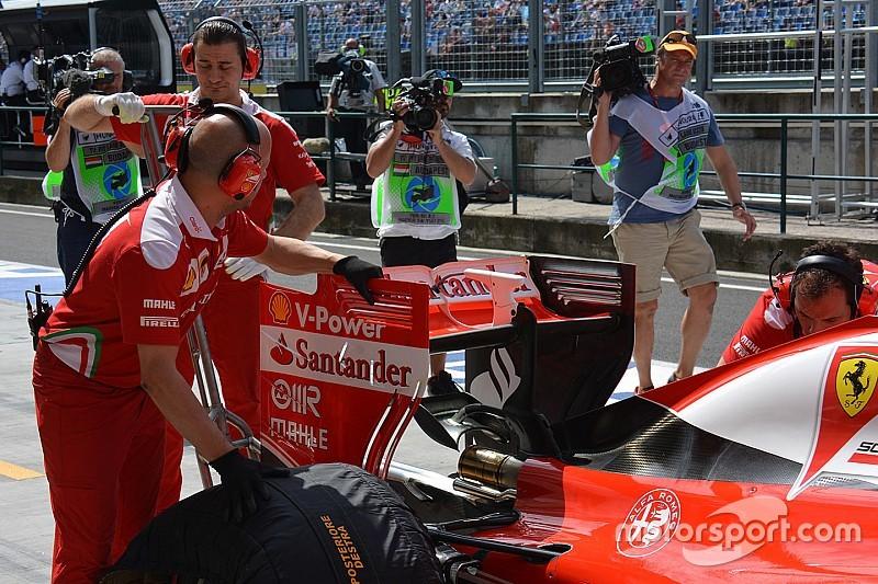Tech update: Ferrari op zoek naar downforce in Hongarije