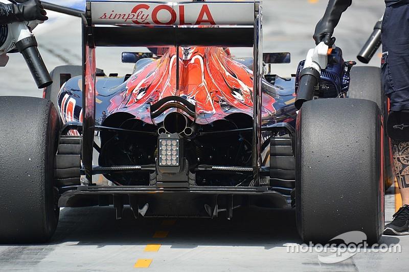 Toro Rosso: lo sfogo della carrozzeria posteriore è enorme!