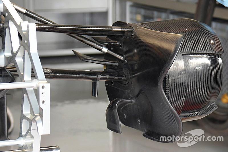 Toro Rosso: è tutta carenata la palpebra della brake duct della STR11