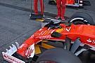 Tech update: Ferrari test doorbuiging voorvleugel