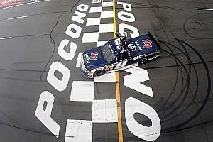 NASCAR Truck Reporte de la carrera Byron gana por quinta vez en la Truck Series