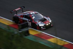 BES Gara 24 Ore di Spa, 20° Ora: in fiamme l'Audi al top di Mies!