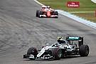 Rosberg terneergeslagen:
