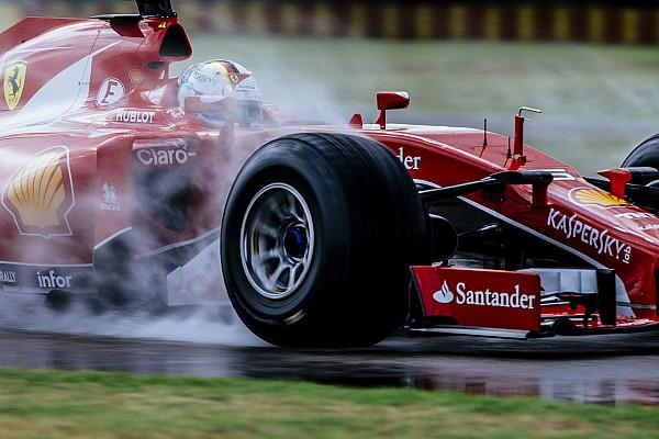 Formule 1 Foto's: Sebastian Vettel test 2017-Pirelli's op Fiorano