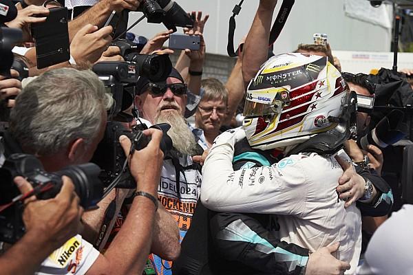 """Hamilton: """"nem cheguei perto do limite do motor na Alemanha"""