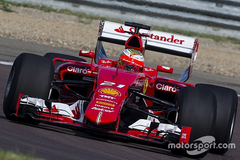 Ferrari prueba los Pirelli de 2017 con Gutiérrez al volante en Fiorano