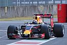 Red Bull op Mugello in actie met nieuwe banden voor 2017