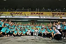 Mercedes AMG Petronas: Anfänge in einem Holzschuppen