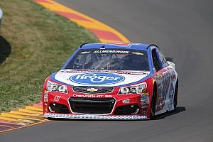 NASCAR Cup Reporte de prácticas Allmendinger en la cima en la práctica final en el Glen