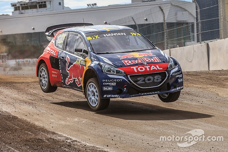 Rallycross-WM in Kanada: Timmy Hansen siegt in Nordamerika