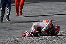 Gehavende Marquez blij met plek op tweede startrij