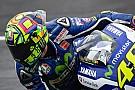 Rossi no se olvida de Luis Salom y luce un 39 en su casco