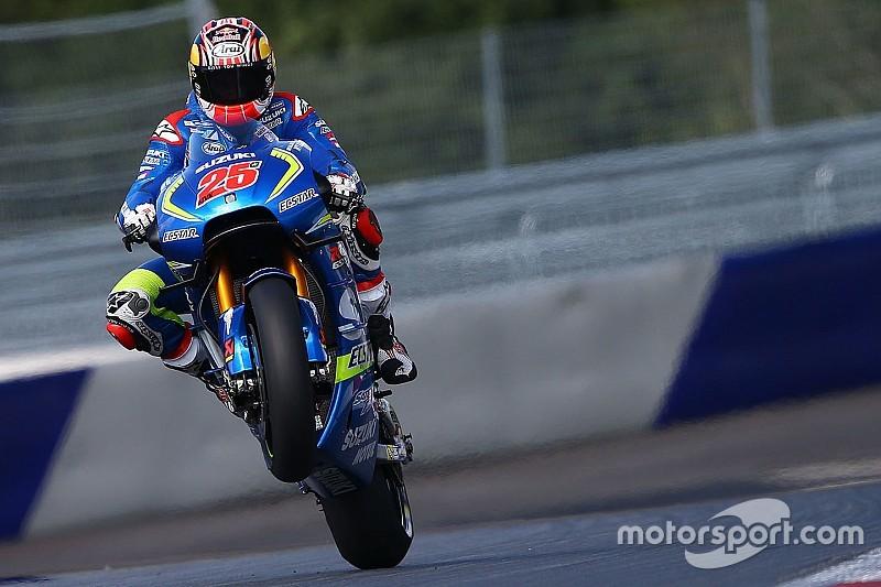 """Vinales: """"Brno veloce e tecnica, può essere adatta alla GSX-RR"""""""