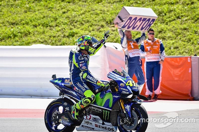 """Rossi: """"Tengo curiosidad por ver si puedo ser más rápido que Lorenzo"""""""