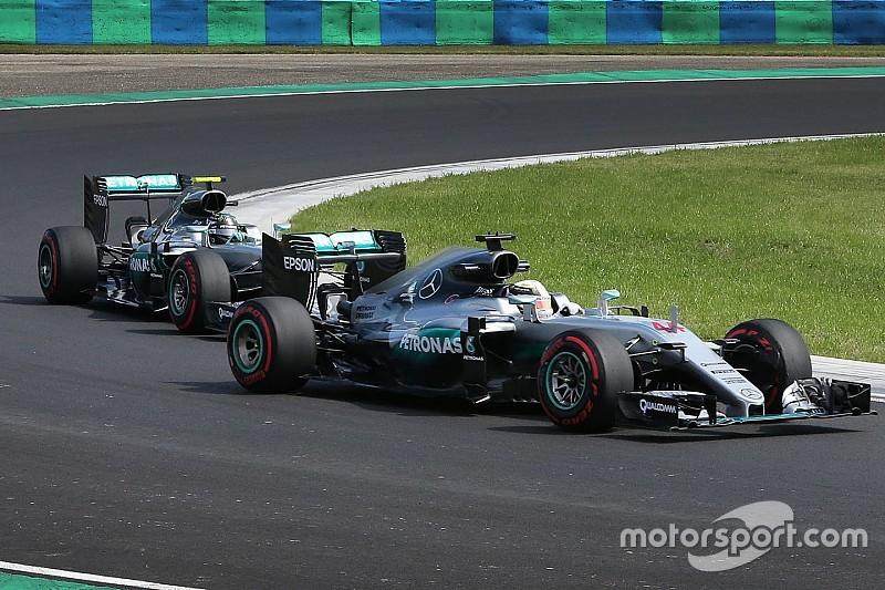 Los incidentes Hamilton/Rosberg son 'agotadores', dice Wolff