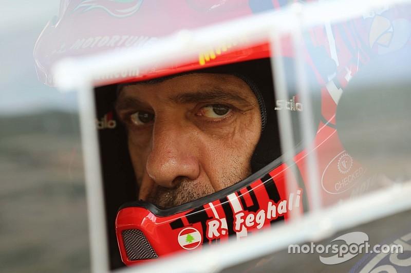 روجيه فغالي يحلم بفوزه رقم 13 في رالي لبنان