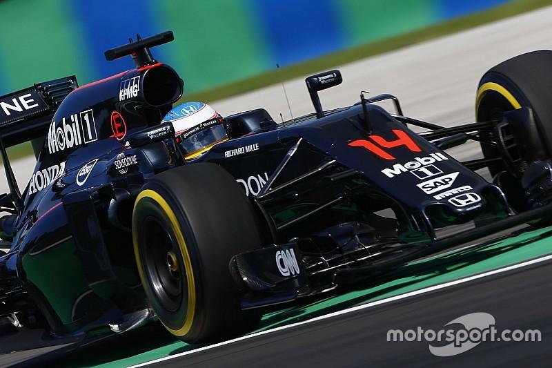 McLaren получит в Спа обновлённые моторы