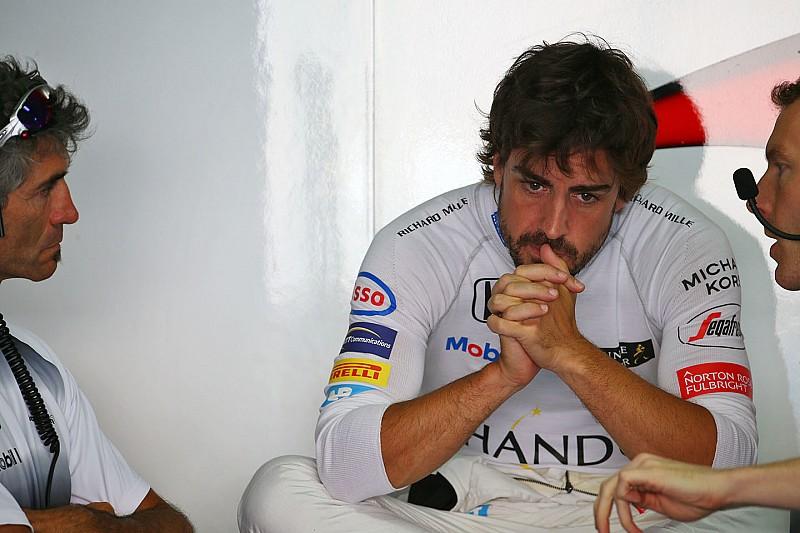 McLaren вновь заменит мотор на машине Алонсо