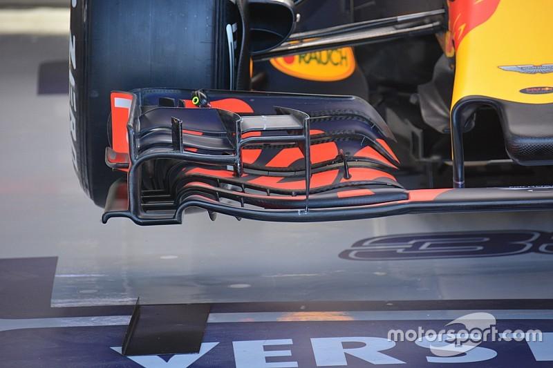 Tech update: Red Bull test nieuwe voorvleugel op Spa