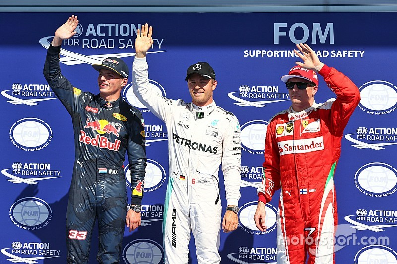 Rosberg, pole con 'ausencia' de Hamilton y Alonso