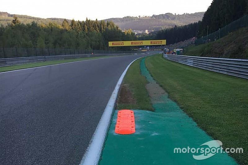 GP del Belgio: nuovo cordolo a Spa prima della gara!