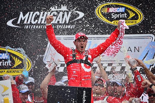 NASCAR Cup Kyle Larson remporte sa première victoire en Sprint Cup