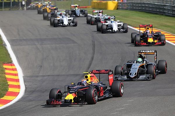 Los daños en el coche le costaron 1.5 segundos a Verstappen en Spa