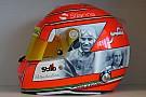 Nasr dedica il casco di Monza a Nuvolari, Alboreto, De Angelis, Farina e Ascari