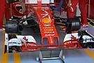 Ferrari: i cestelli dei freni della SF16-H sono asimmetrici