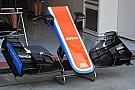 Manor: tolto l'ultimo flap all'ala anteriore e tagliato quello posteriore