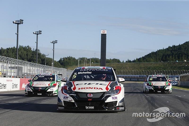 Michelisz-Huff-Monteiro: grande tripletta Honda nella Opening Race di Motegi!