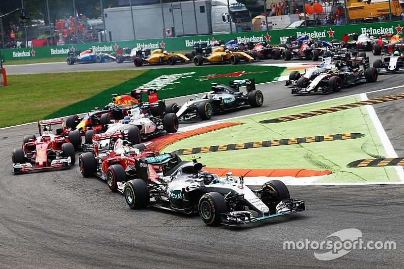 Rosberg ganó en Italia tras una mala largada de Hamilton