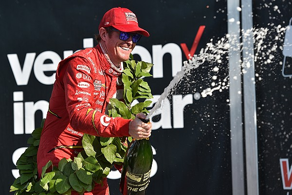 Dixon domina en  Glen; Power sufre un duro choque