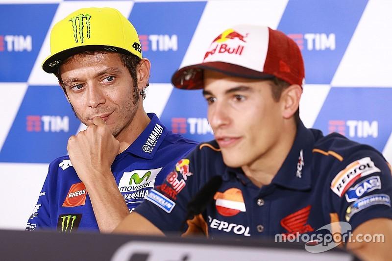 Márquez cree que hacer las paces con Rossi ha relajado el ambiente