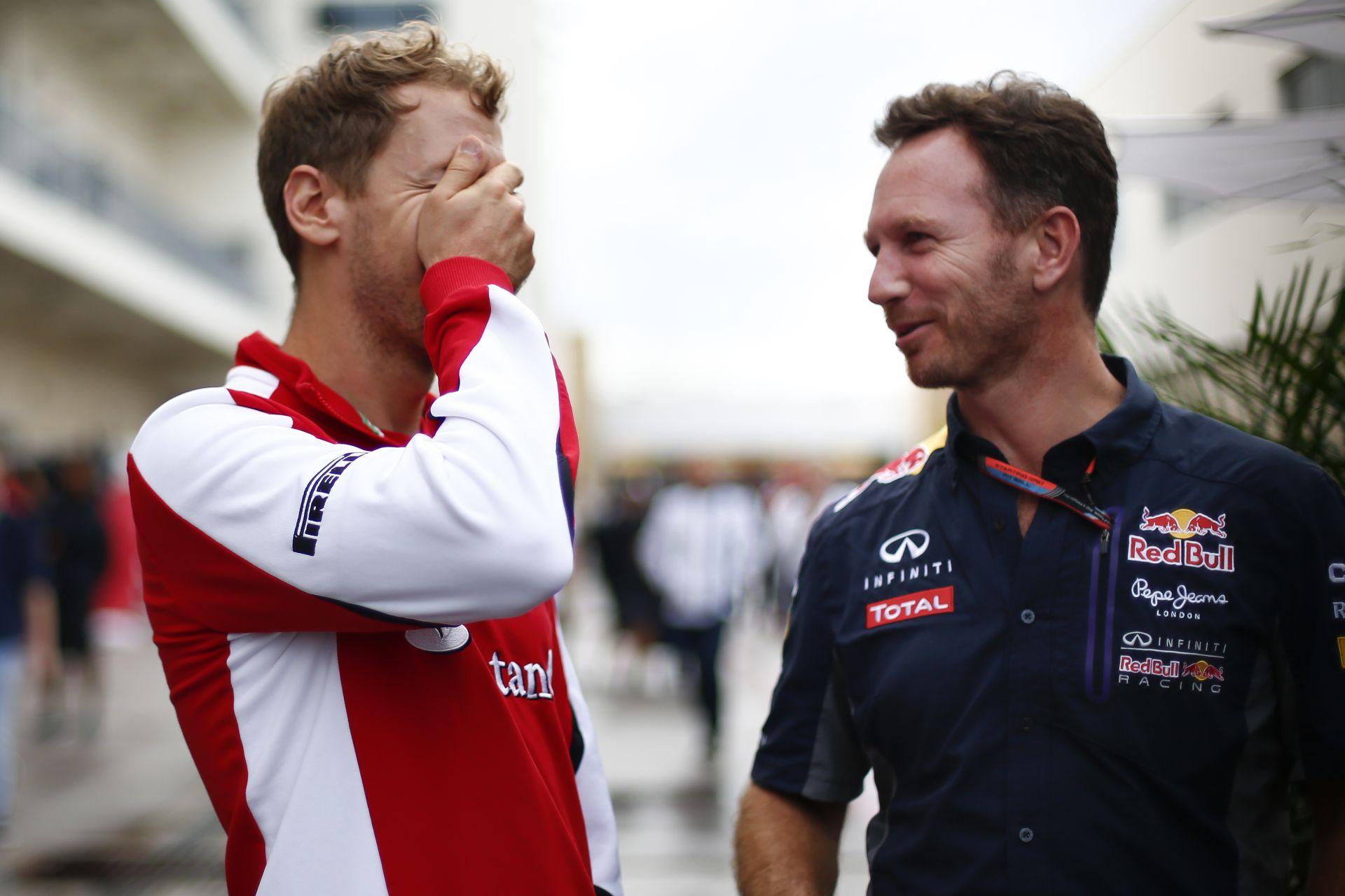 Vettel saját maga ment vissza a bokszba, motorral, bukó nélkül