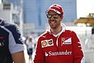 Vettel megrémült Bakuban: szellemeket látott a sajtótájékoztatón?!
