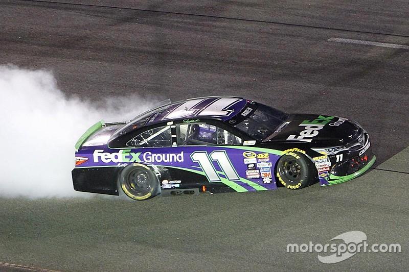 NASCAR: Richmond-Sieg für Denny Hamlin – Chase-Feld komplett