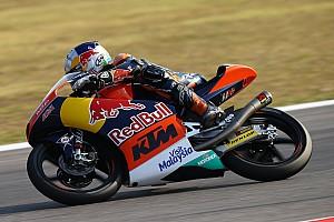 Moto3 Relato da corrida Binder vence mais uma e se aproxima de título da Moto3