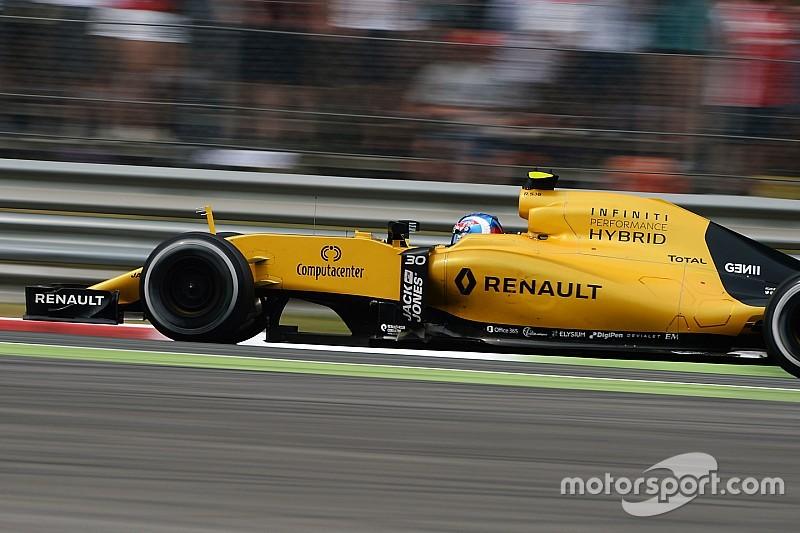 Renault, esperanzado con los test del motor de 2017