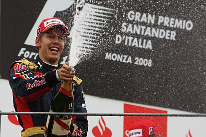 Vor 8 Jahren: Sebastian Vettel gewinnt für Toro Rosso in Monza