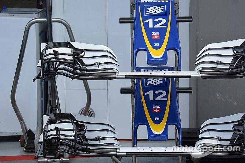 Tech update: Sauber voorvleugel