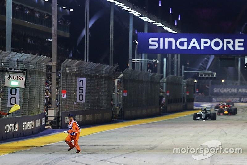 FIA onderzoekt incident met marshal op het circuit