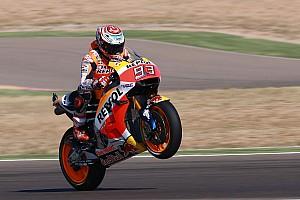 MotoGP Relato de classificação Com sobras, Márquez é pole no MotorLand; Rossi é 6º