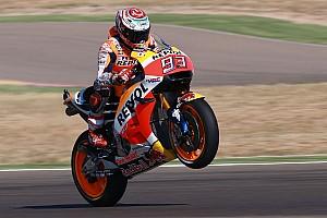 MotoGP Qualifiche Marquez di un altro pianeta. Pole spaventosa ad Aragon. Rossi 6°