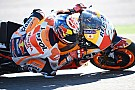 Honda completa una jornada de test con la moto de 2017 en Aragón